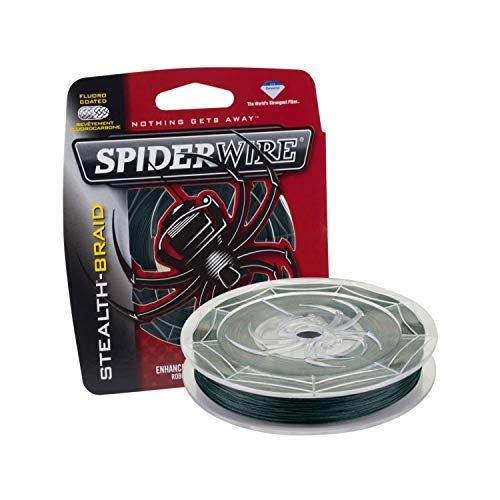 SPIDERWIRE SCS40G-300 Stealth, 300-Yard/40-Pound, Moss Green