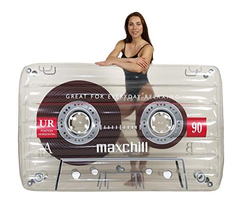 LÔTELI Classic Cassette Tape Pool Float (Clear)