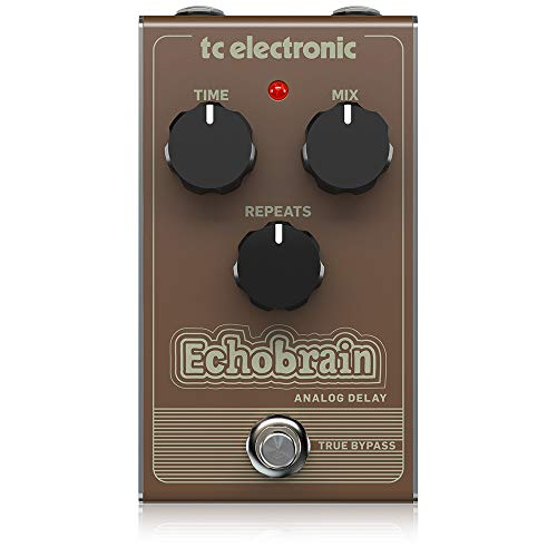 tc electronic Echobrain Analog Delay Vintage Style Pedal with All-Analogue Bucket-Brigade Circuit