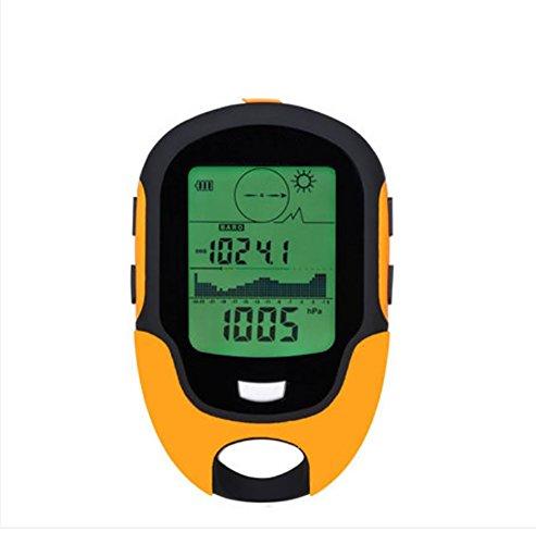 RUIX Termometro Digitale Multifunción Electrónico Altímetro Medidor De Elevación Medidor De Presión Cuenta De Temperatura Brújula Display Exterior