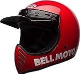 BELL ヘルメット Moto-3 17-20年 現行モデル Classic 赤/L [並行輸入品]