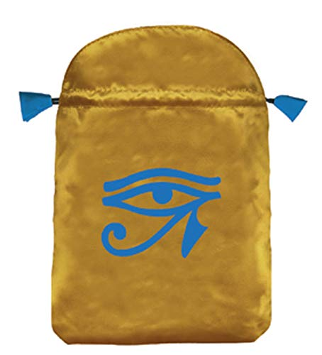 Horus Eye Satin Bag (Bolsas de Lo Scarabeo Tarot Bags From...