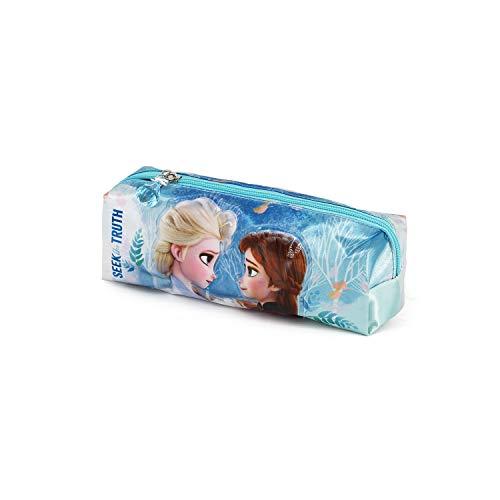 Karactermania Frozen 2 Seek-Astuccio Portatutto Quadrato, multicolour