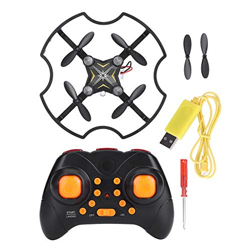 Camera F17 2.4G mini Drone 0.3MP 720 * 576 velivoli di telecomando Quadcopter Aereo (giallo)