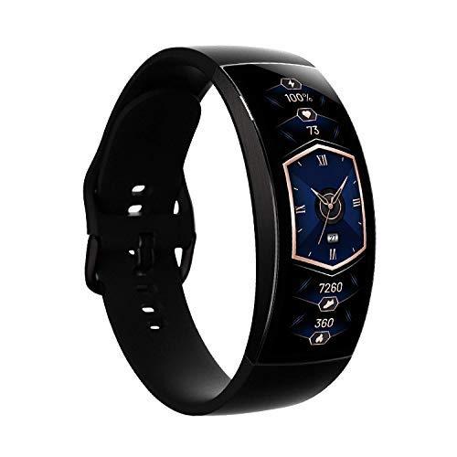 Amazfit X Smartwatch Reloj Inteligente Fitness Tracker con Oxígeno en Sangre Estrés Sueño Monitor de Frecuencia Cardíaca 5 ATM Cuerpo de Aleación de Titanio Negro