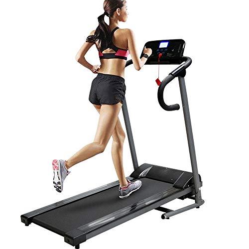 Bakaji Tapis Roulant Elettrico Pieghevole Allenamento Cardio Fitness Palestra Velocit 10 km/h 5 Programmi preimpostati Pannello di Controllo LCD con Casse MP3 Integrate Connessione Bluetooth USB
