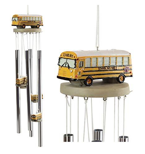 Decorative Yellow School Bus Model Resonant Relaxing Wind...