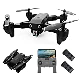 GoolRC CSJ S166 GPS RC Drone with 1080P HD Camera Follow Me Auto Return WiFi FPV Live Video Gesture...