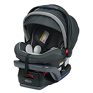SnugLock Technology features a hassle Free 3 step installation rear facing car seat helps protect infants from 4 to 35 pounds and up to 32 Inches quick and Easy clean up with the Rapid Remove cover; Head must be more than 1 inch from the Top of the h...