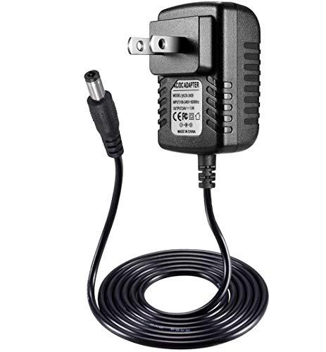 AC DC Adapter Charger Compatible with SUNUV Sunone SUN2C Sun2 Sun3 SUN6 SUN8 48W Smart UV LED Nail Lamp, LED UV Lamp Gel Nail Polish Dryer Power Supply Cord