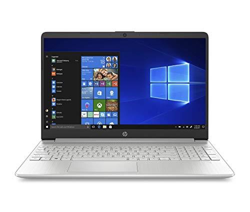 "HP - PC 15s-fq1000sl Notebook, Intel Core i7-1065G7, RAM 8 GB, SSD 512 GB, Grafica Intel Iris Plus, Windows 10 Home, Schermo 15.6"" FHD Antiriflesso, Lettore Impronte Digitali, USB Type-C, Argento"