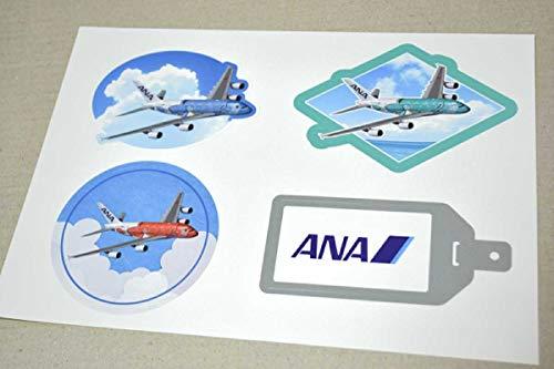 ANA 全日空 ハワイ HAWAII A380 FLYING HONU ステッカー シール ホヌ エアライングッズ