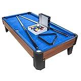 PLAY4FUN Billard de Table avec Accessoires - Kit Billard Compact de Bureau...