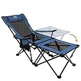 Asteri Chaise de Camping Pliante Confortable Inclinable Pliable Chaises...