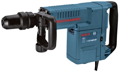 Bosch Professional Schlaghammer GSH 11 E (mit SDS-max, Flachmeißel, 16,8 J Schlagenergie, 1.500 W, Koffer)