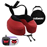 Cabeau Evolution S3 Travel Pillow – Straps to Airplane Seat – Ensures Your Head Won't Fall...