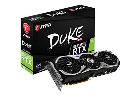 MSI GeForce RTX 2080Duke 8G OC scheda grafica 1515MHz HDMI 7000MHz