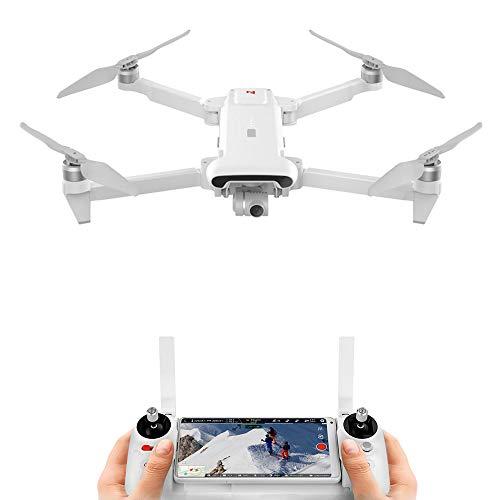 Drone FIMI X8SE 2020, portata 8 km 35 minuti tempo di volo 4K fotocamera digitale Zoom fotocamera 3 assi pioggia pieghevole e portatile Drone UAV con GPS in tempo reale Tracking