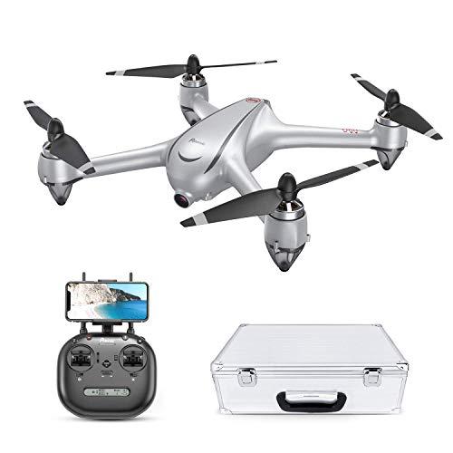 Drone GPS Con Motore Brushless Potensic Drone D80 WIFI Con Telecamera 2K Full HD Dual GPS Funzione di RTH, Altitudine...