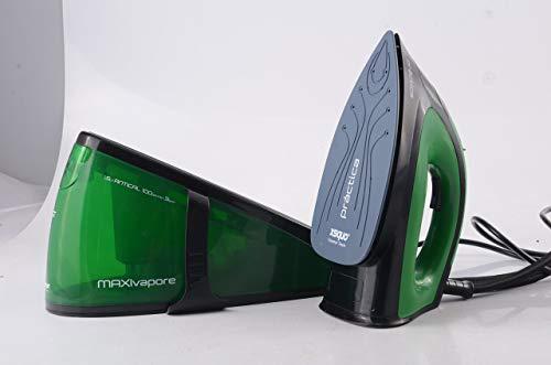 XSQUO Useful Tech - Ferro da stiro Maxivapore Pratica 100 g/sec a vapore continuo, 2200 W, acciaio
