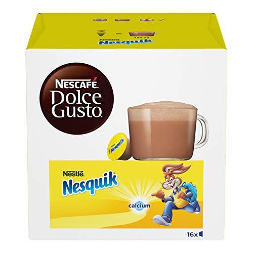 NESCAFÉ Dolce Gusto Nesquik Bevanda al Gusto di Cioccolato 16 Capsule