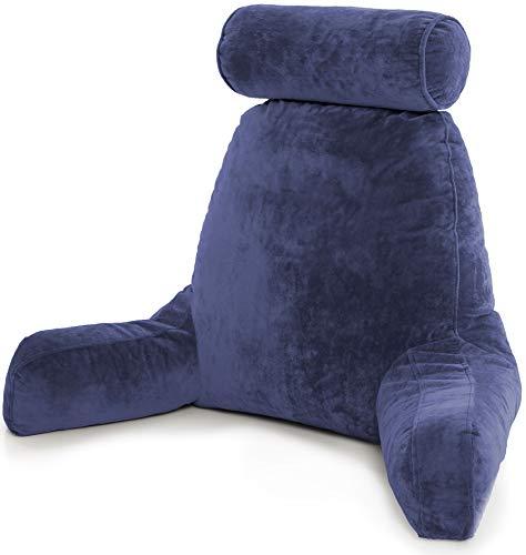 Husband Pillow - Dark Blue, Big Backrest...