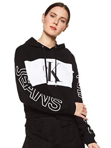 Calvin Klein Jeans Damen Blocking Statement Logo Hoodie Pullover, Ck...