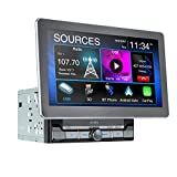 Jensen CAR10 10-inch Capacitive LCD Digital Multimedia Adjustable Touch Screen Double DIN Car Stereo...