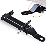 Golf Cart Trailer Hitch Fit for Backseat FOOTREST - Club CAR, EZGO, Yamaha by ELITEWILL