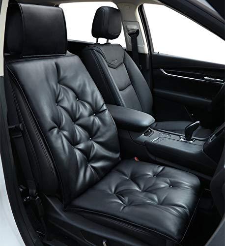 Big Ant Sitzauflage Auto, Sitzbezüge Auto, Sitzkissen Auto Orthopädisches Sitzkissen Komfort Kissen für Hüfte, Steißbein Sitzbezug, Schwarz (1 Stück)