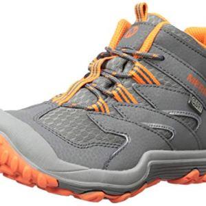 Merrell Kids' Chameleon 7 Mid WTRPF Hiking Shoe