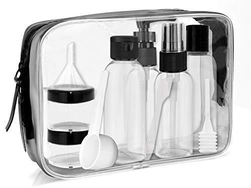 MyGadget Kit Voyage Pochette en Plastique Transparent pour Avion Bagage...