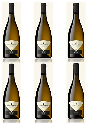 Vino Bianco del Friuli - 6 x 0,750 l. - Sauvignon Isonzo - Cantina Masut Da Rive