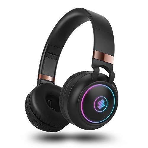 Cascos inalambricos Bluetooth Diadema,Sendowtek Auriculares con...