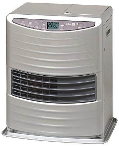 Zibro LC 30 Poêle à combustible électronique portable 3000 W Argenté 19 m2 - 48 m2 sans installation avec filtre toyotube inclus Classe d'efficacité énergétique A