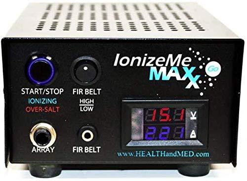 IonizeMe Maxx Go - Portable Ionic Detox Foot Bath System (Starter)