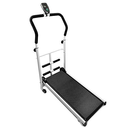 Flyelf Mini Manuale Tapis Roulant, con Display a LED Running, Sit-Up Fitness Famiglia 110 * 88 *...