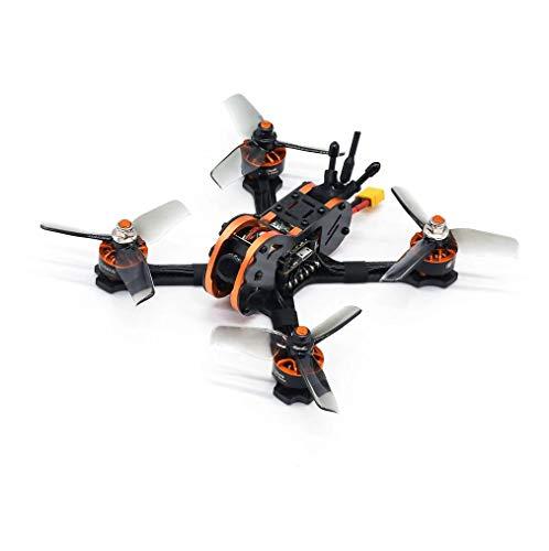 Eachine Tyro79S Droni RC OSD F4 da 140 mm Quadricottero Racing con Ricevitore VTX Frsky XM + Trasmettitore Radio LiteRadio 2.4G Modalit 2 RTF (4 Batterie)