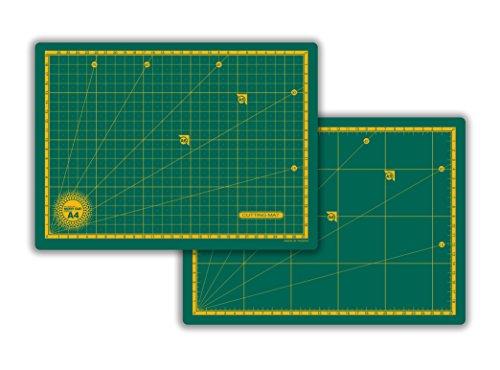 Base de Corte A4 30x22cm Dupla Face Verde