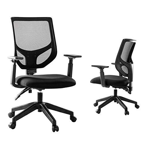 Rimiking Mesh Office Chair, Mid Back Ergonomic...