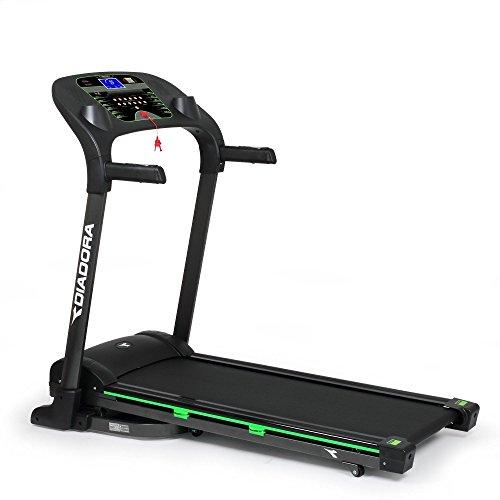 Diadora Fitness Trim 4.2 2Hp Tapis Roulant, 18 km/h, Inclinazione Elettrica