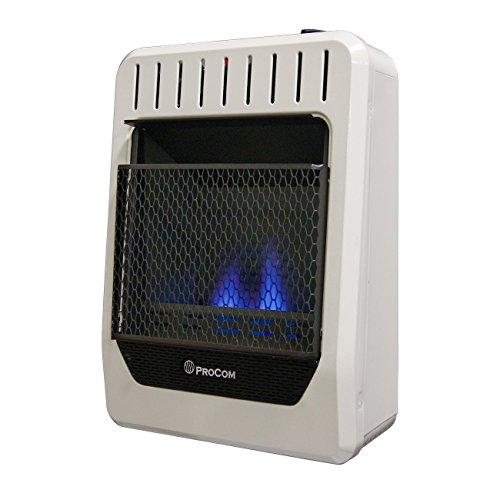 ProCom Heating Ventless INC MGH10BF 10,000 BTU Dual Fuel...