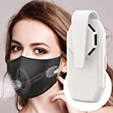 Personal Wearable Air Face Fan Mini Portable Reusable Protective Clip Breathable Cool for Face_Mask USB Rechargeable Electric Air Conditioning Cooling Fan for Outdoor Cycling Travel