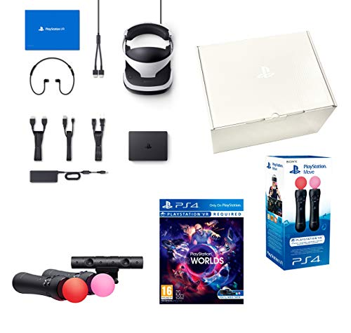"Playstation VR2 (CUH-ZVR2) ""Starter Plus Pack"" + VR Worlds + Kamera V2 + Twin Move Kontrollers"