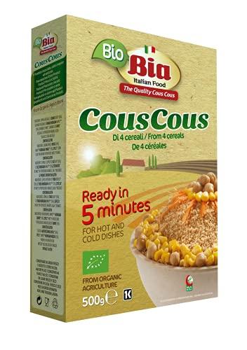 Bia Cous Cous de 4 Cereales, 500g (Bio)