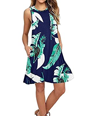 US Size :Small=US 4/6---Medium=US 8/10---Large=US 12/14---X-Large=US 16/18---2XL=US 18/20 Scoop neckline,Solid Color,Flowy swing dress,two handy side pockets you'll love. Stretch,fitted,Irregular Dress,Occasion:Casual/Beach/Party Sleeveless,dress wit...