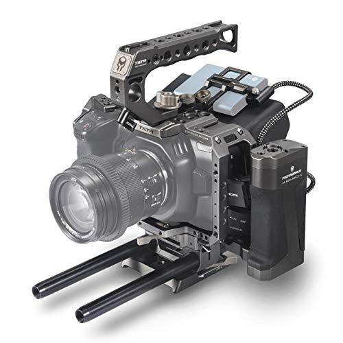 (ティルタグレー)TILTA TA-T01-AG BMPCC 4KテレカメラガッビアタクティカルカメラケージBlackmagic Pocket Cinema Camera 4Kリグ(タクティカルキット)