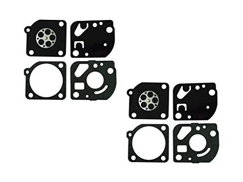CTS Kit guarnizioni e Membrana per carburatore ZAMA GND-41 per carburatore ZAMA C1Q Echo SRM2305...