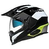 NEXX X.WED 2 Duna White Black Yellow Motorcycle Helmet (M)