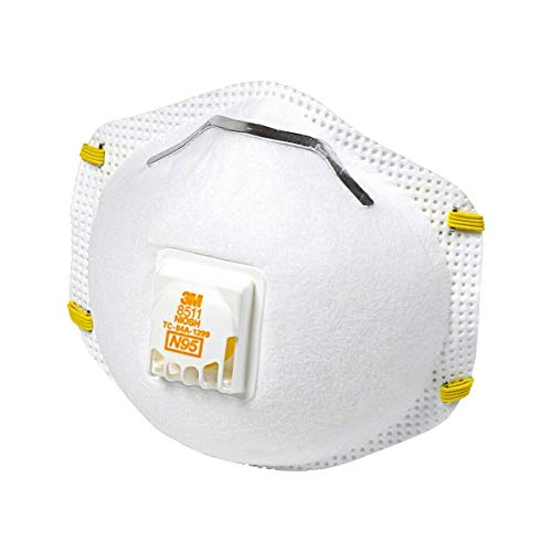 N95 mask 8511 PRO Particulate Respirator W/Exhalation Valve mask,1 pc only